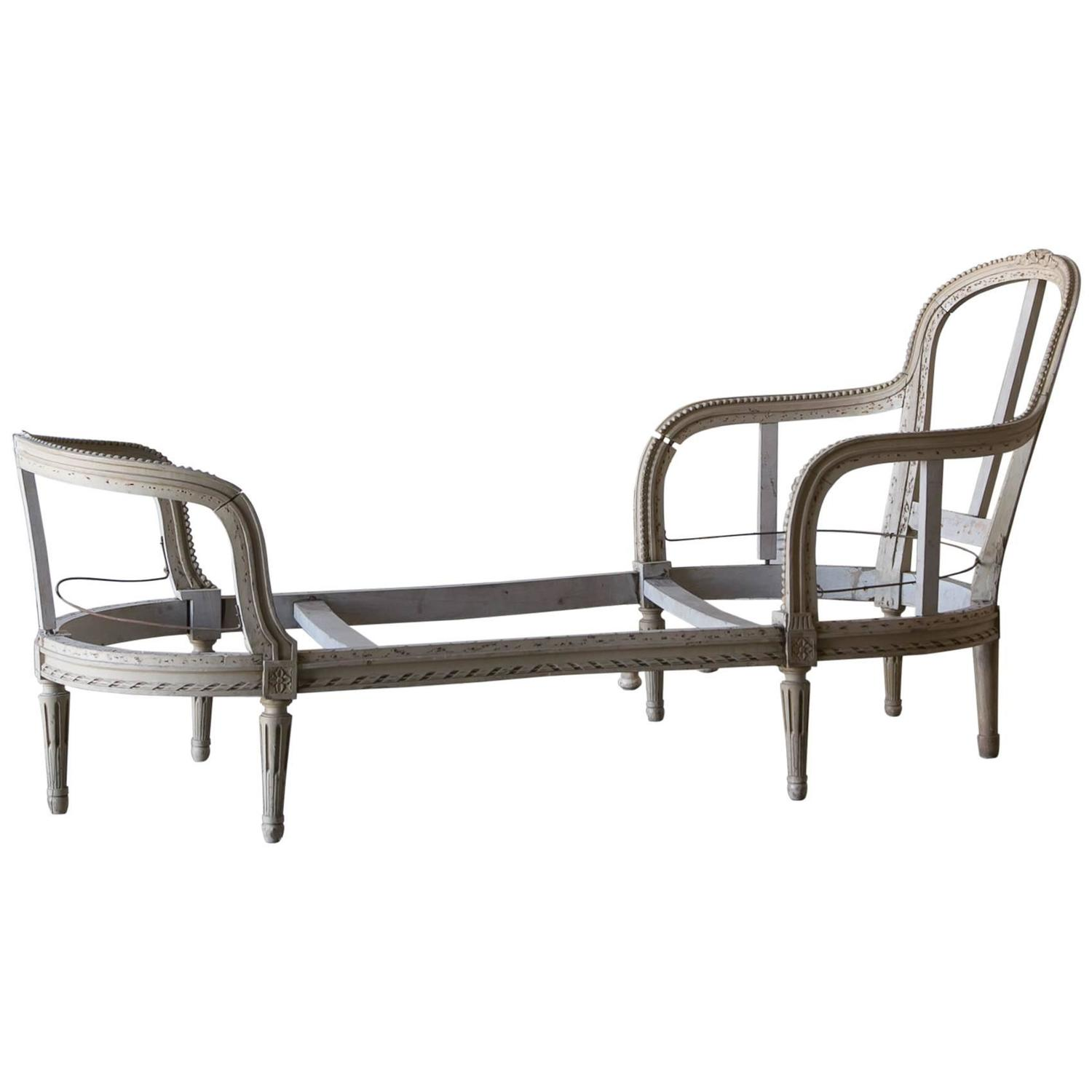 Antique chaise lounge circa 1890 at 1stdibs for Antique chaise lounges