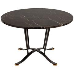 Marble-Top Coffee Table by Maison Leleu
