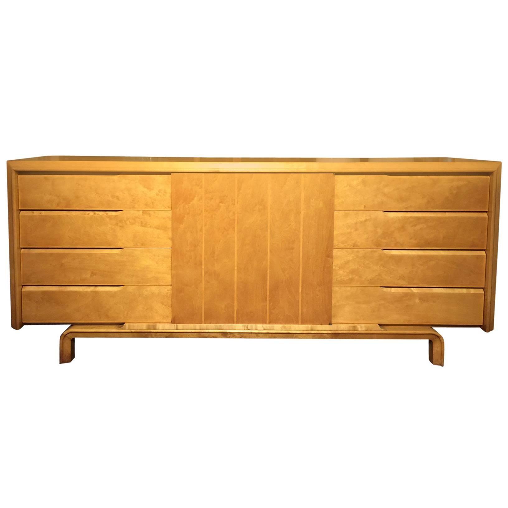 Edmund J. Spence Cabinet/Dresser in Birch Wood
