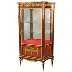 Early 20th Century Gilt Bronze-Mounted Vitrine by François Linke