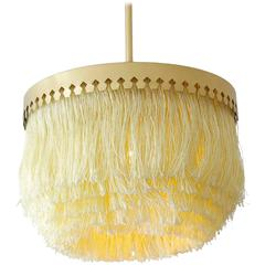 Vintage Hans-Agne Jakobsson Ceiling Lamp with Fringes
