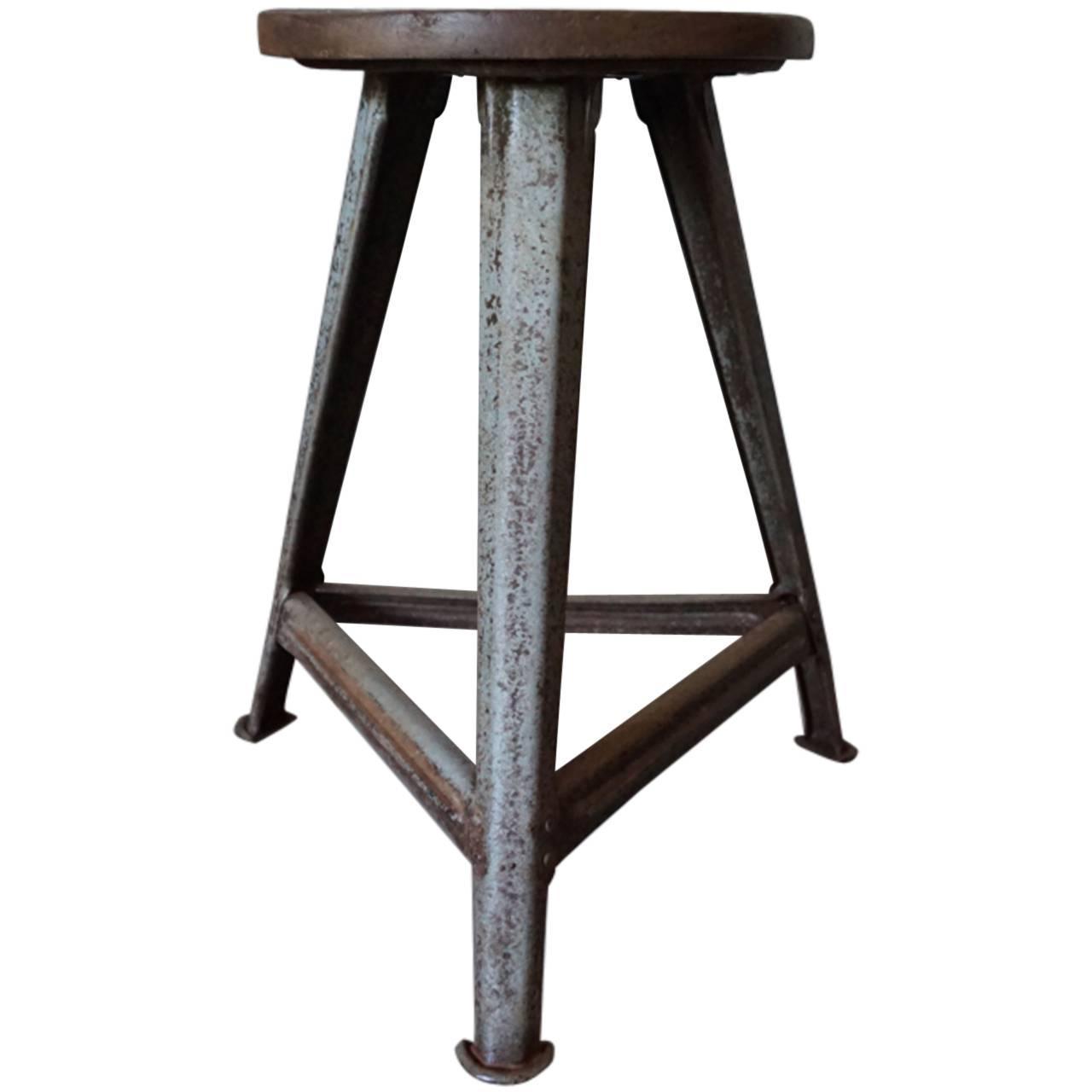 Vintage Industrial Stool 18