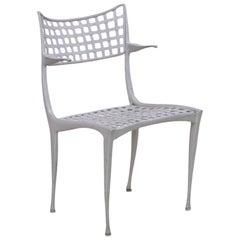 Dan Johnson Aluminum Gazelle Chair, 1950s