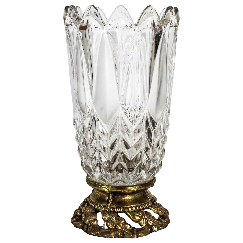 Vintage Crystal Vase Mommy Likes Cock