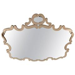 Exquisite Venetian Shield Mirror