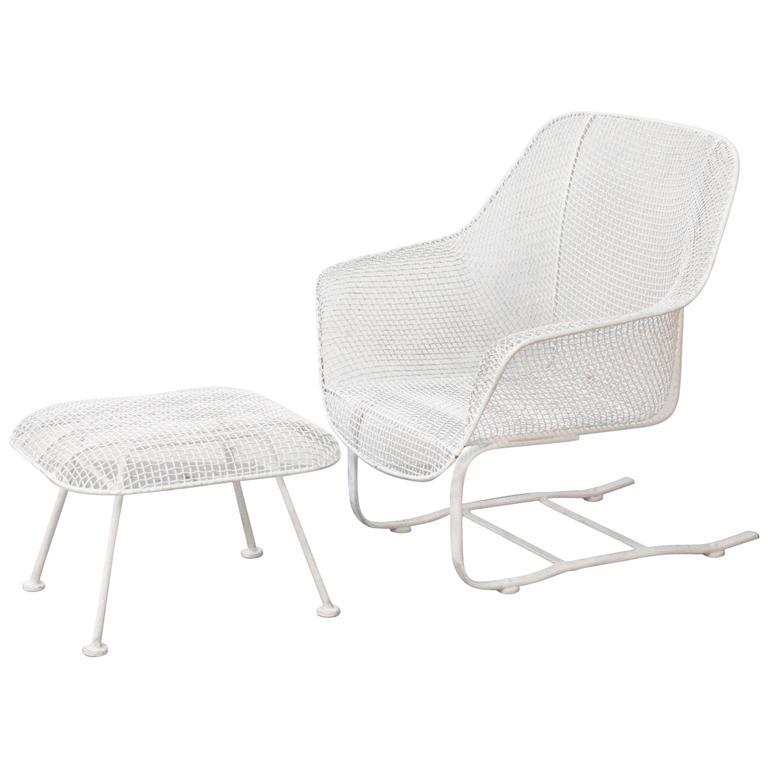 """Russell Woodard """"Sculptura"""" Spring Rocker Lounge Chair"""