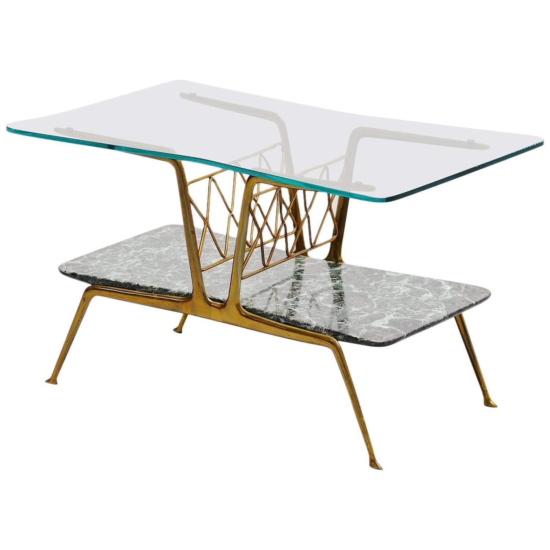 Italian Magazine Table Gio Ponti Style 1950 At 1stdibs