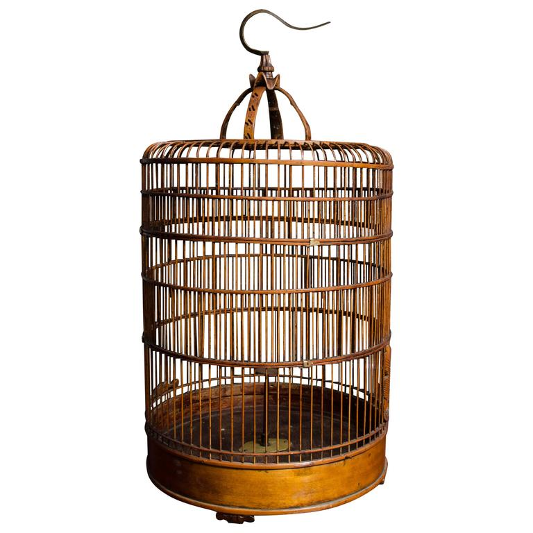 beaded kitchen cabinets birdcage at 1stdibs 11932