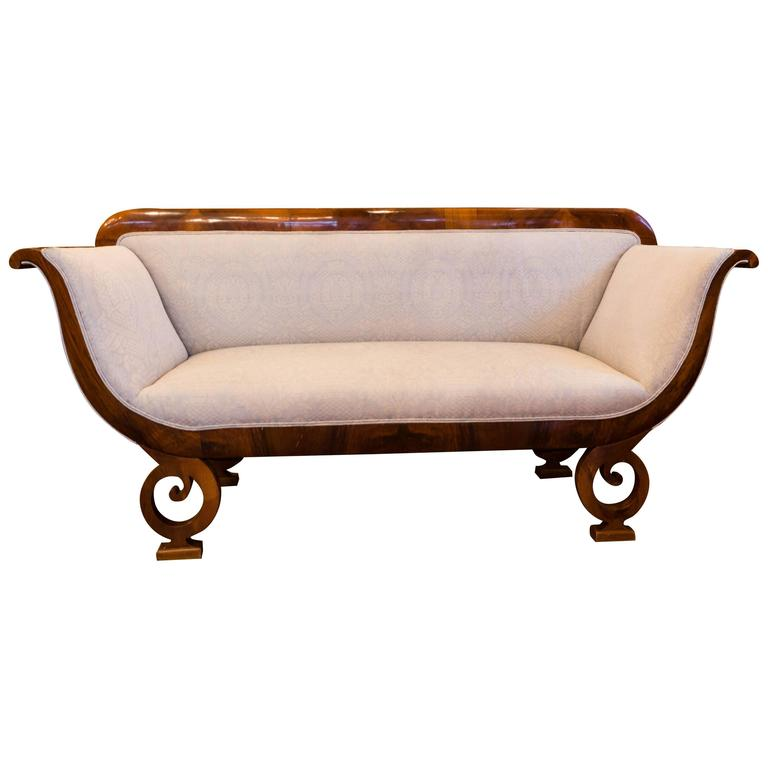Biedermeier joseph danhauser designed sofa at 1stdibs Biedermeier sofa