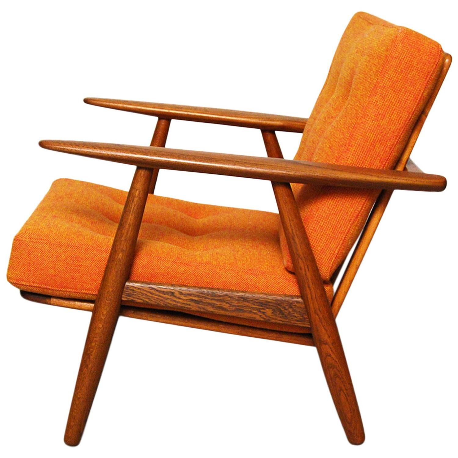 Hans Wegner GE 240 Cigar Chair at 1stdibs