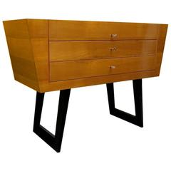 1950s Cherrywood Italian Midcentury Chest of Drawers