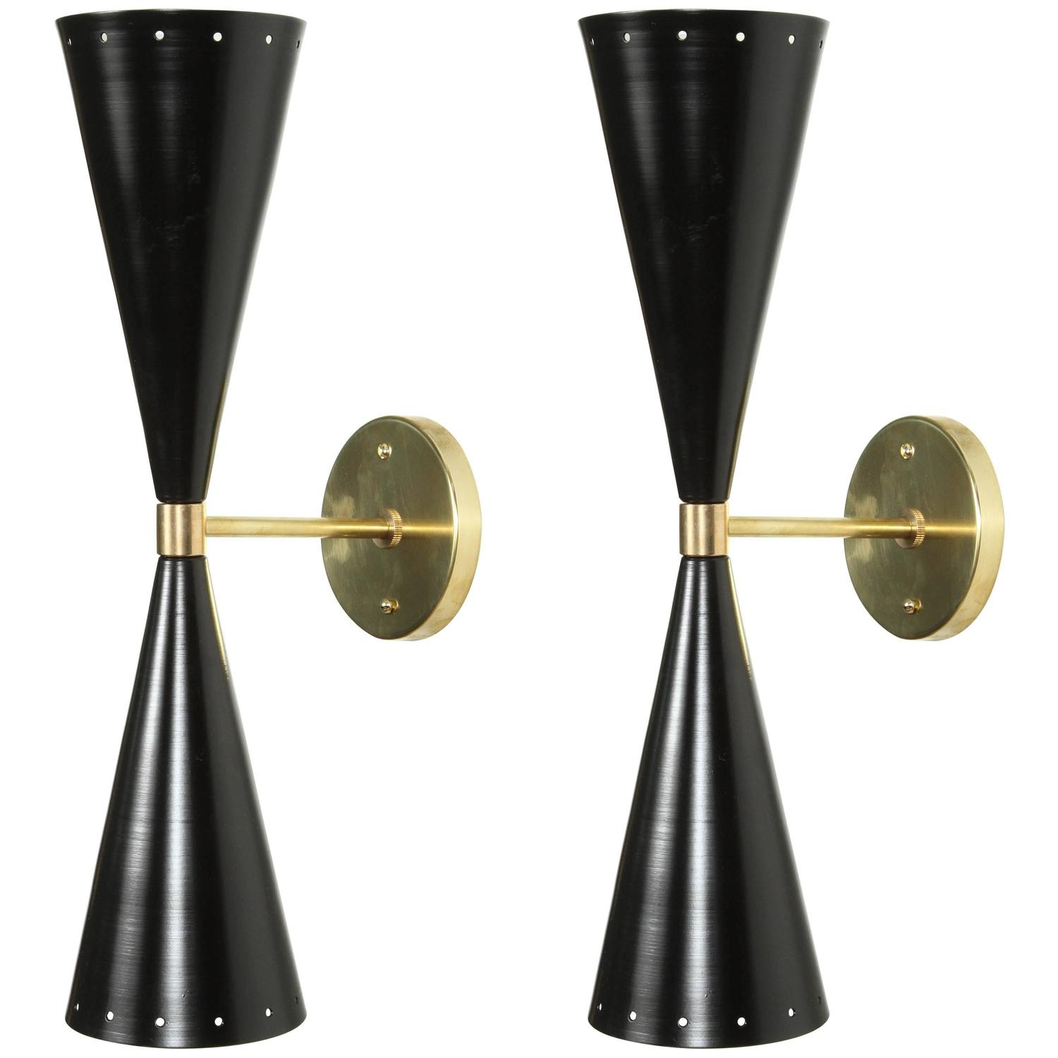 Great Double Cone Sconce By Lawson Fenning At 1stdibs