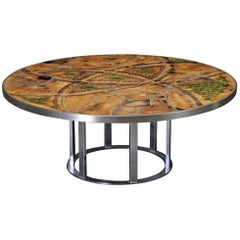 Lilli Just Lichtenberg Circular Coffee Table