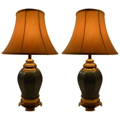 Pair of Asia Modern Table Lamps