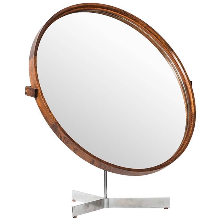 Uno & Östen Kristiansson Table Mirror by Luxus in Sweden