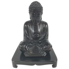 Rosewood Buddha and Stand
