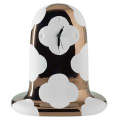 Fantasmiko Table Clock Special Edition, Rose Gold, Designed by Jaime Hayon