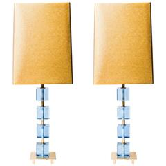 Pair of Table Lamps, Sweden, circa 1970