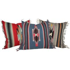 Amazing Mexican or American Indian Serape Square Pillows