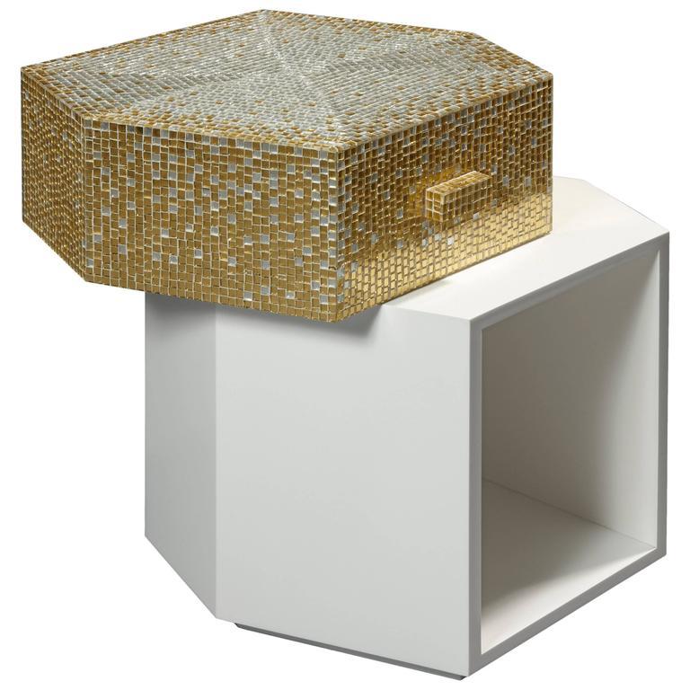 Bijou Side Table by Mattia Bonetti. In stock 1
