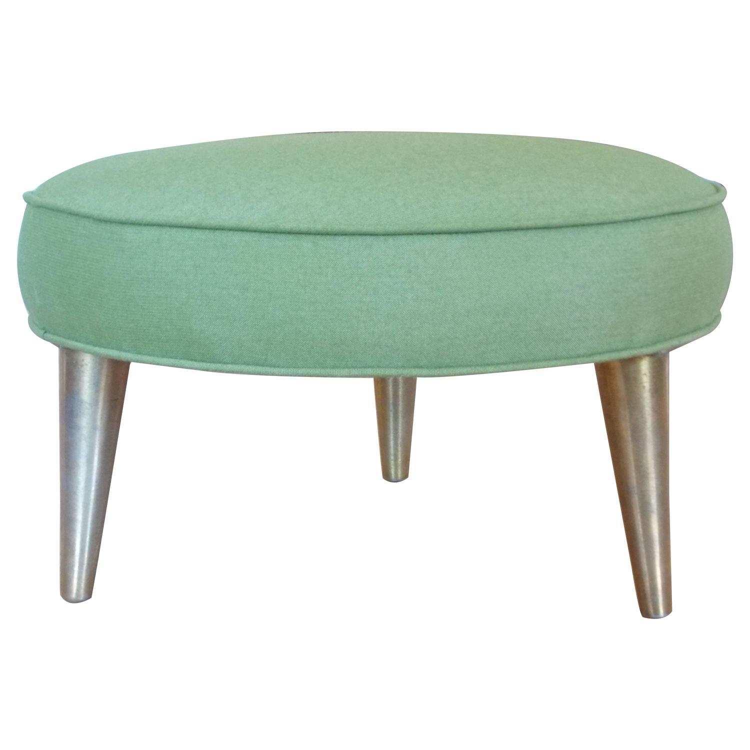 Mid Century Modern Low Accent Stool or Ottoman at 1stdibs