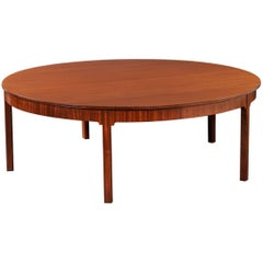 Dramatic 1930s Mahogany Dining Table by Kaare Klint