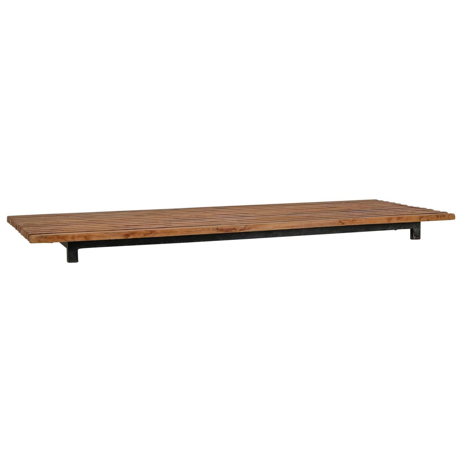 Charlotte Perriand Cansado Low Slat Bench Or Coffee Table