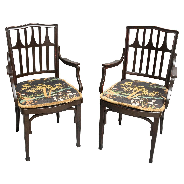 Gustav Siegel Chairs for J and J Kohn Vienna Austria 1905 1910