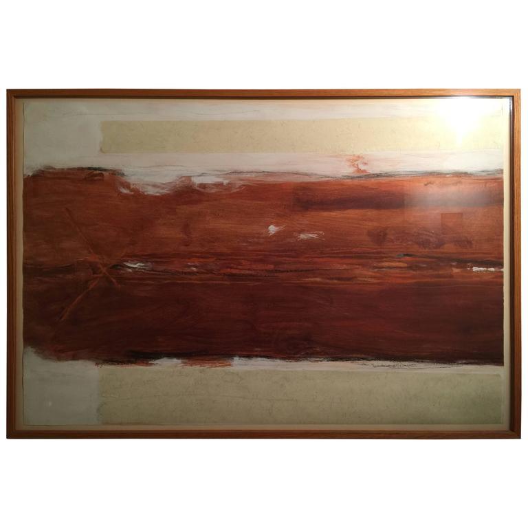 Gary Passanise Minimalist Painting Acrylic on Paper