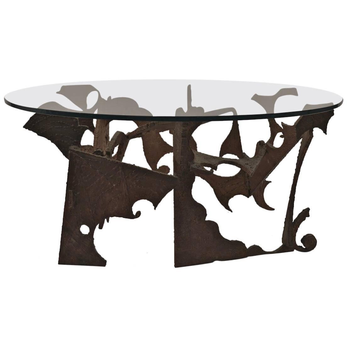 Brutalist Coffee Table by Silas Seandel