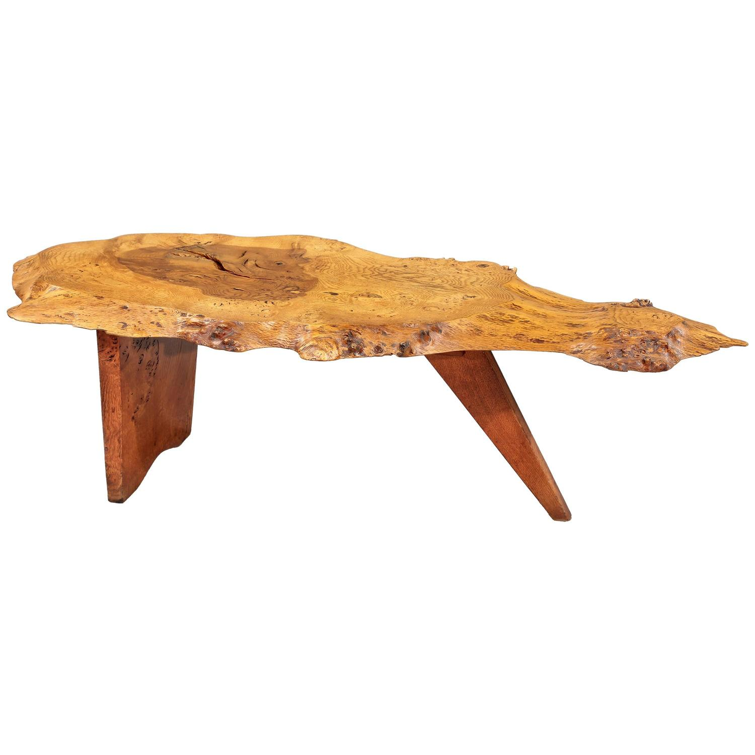 Slab I Coffee Table By George Nakashima 1963 At 1stdibs