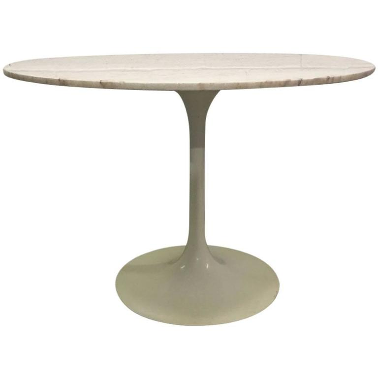 Eero Saarinen Marble-Top Dining Table