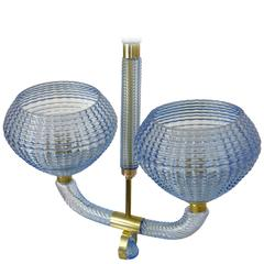 PENDANT LAMP Blue By Barovier And Toso Ceiling Light Lamp Chandelier