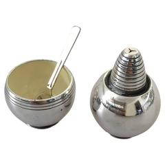 Hans Hansen Sterling Silver Salt and Pepper Set