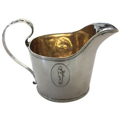 19th Century Swedish Silver Creamer