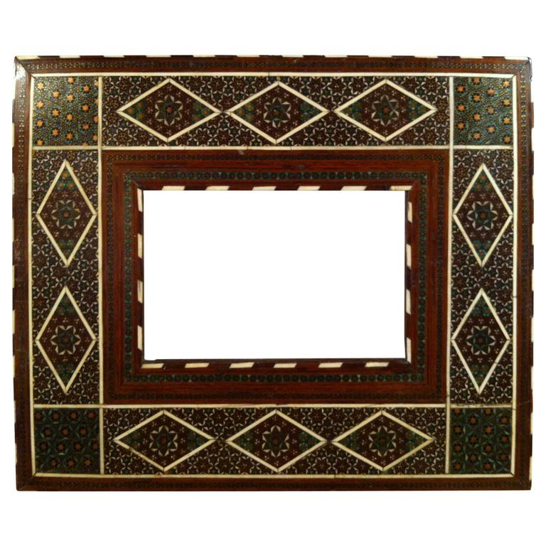 Anglo-Indian Inlaid Frame at 1stdibs