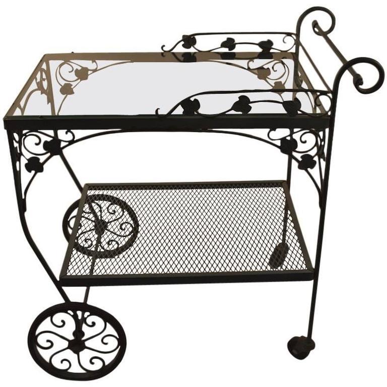 Salterini Serving Cart For Sale At 1stdibs