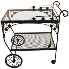 Salterini Serving Cart