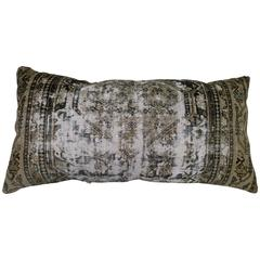 Distressed Malayer Floor Pillow