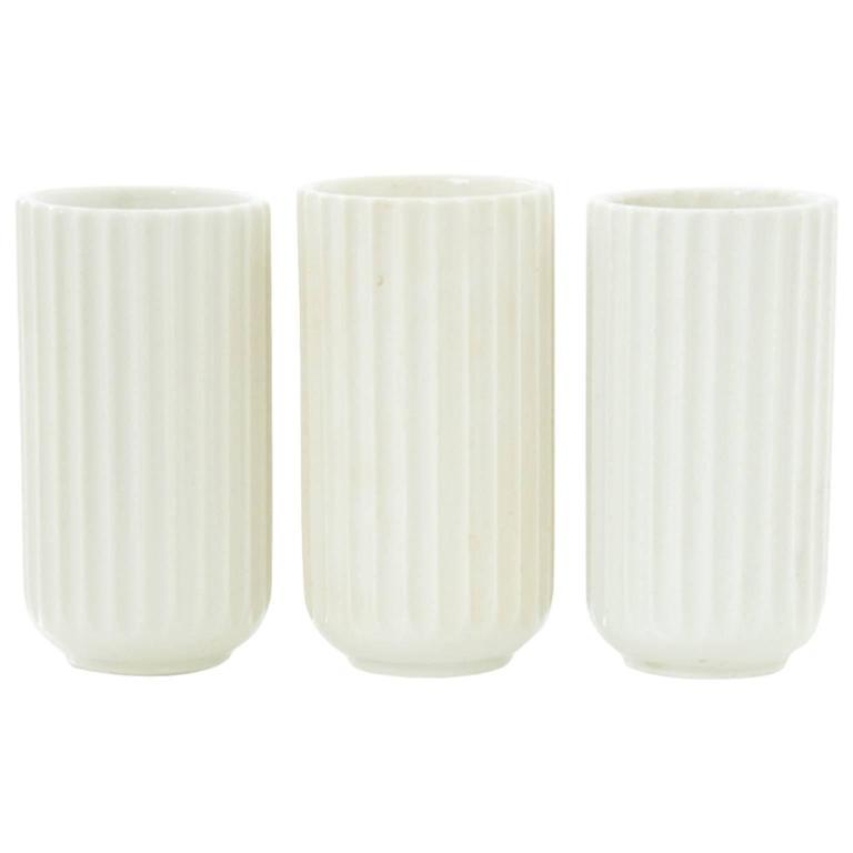 Danish Modern Porcelain Vases