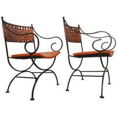 Beautiful Iron Chairs by Shaver-Howard