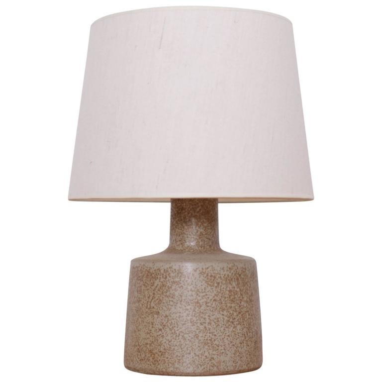 Stoneware Table Lamp By Gordon Martz For Marshall Studios