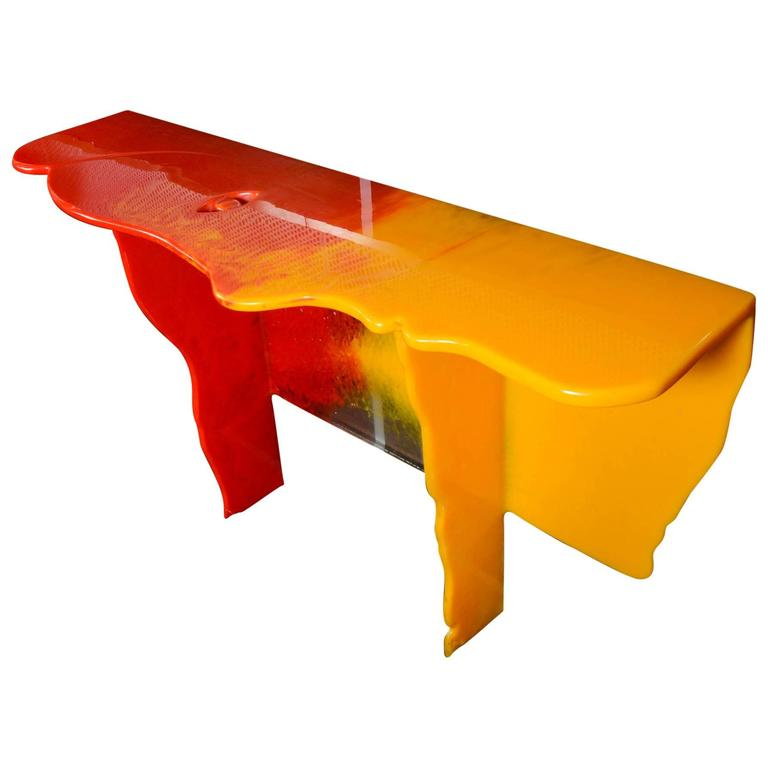 One of a Kind Console by Gaetano Pesce