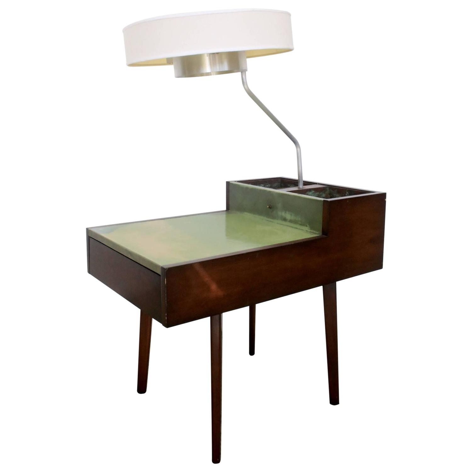George Nelson For Herman Miller Planter And Lamp Table At