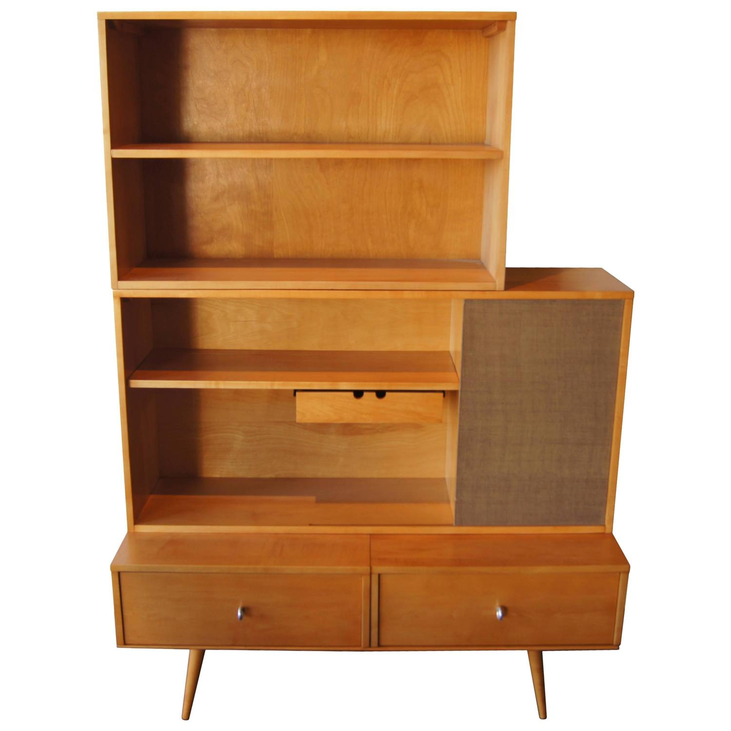 Planner Group Cabinet with Bookcase by Paul McCobb for
