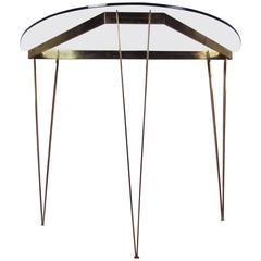 Mid-Century Modern Demi-lune Tables