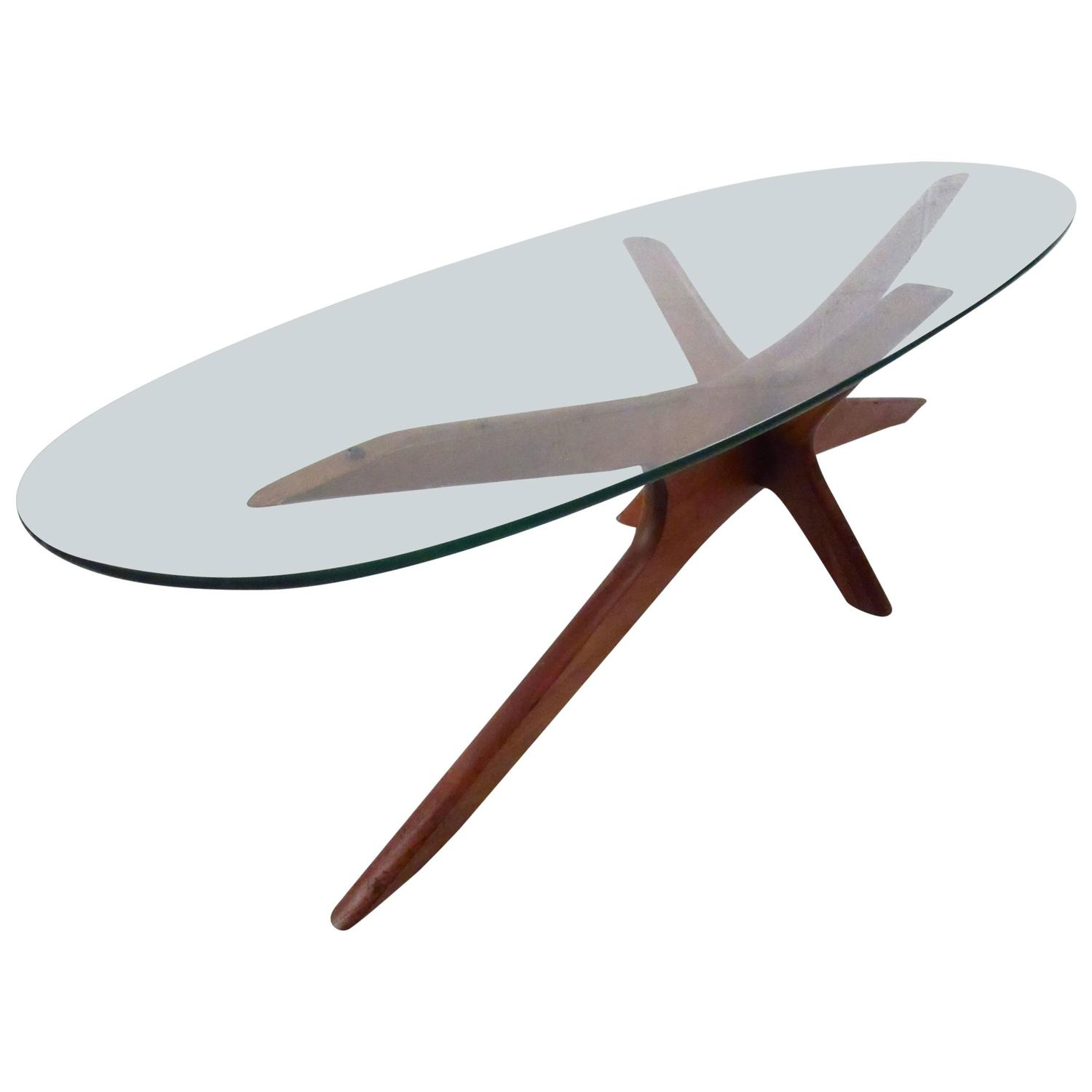 Adrian pearsall long cocktail table at 1stdibs for Long coffee table