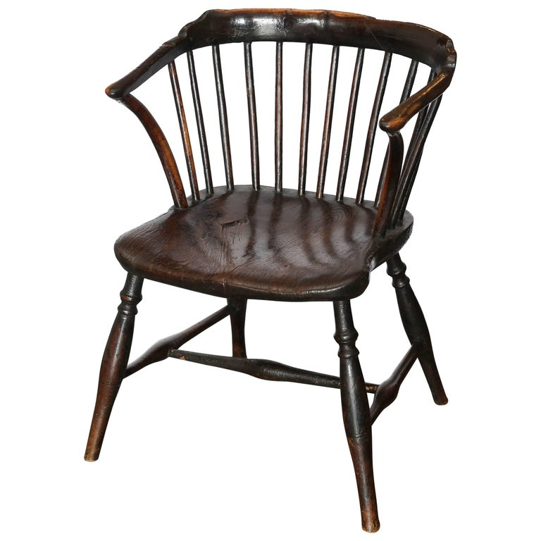 Antique 19th Century Windsor Chair For Sale