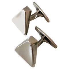 Bent Knudsen Danish Sterling Silver Cuff Links