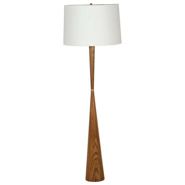 El Monte Lamp by Lawson-Fenning in Oak